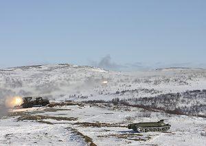 Russisk militærøvelse nær Finnmark