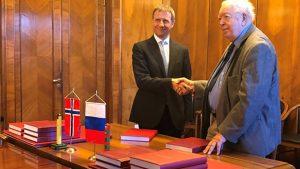 Ny grenseavtale med Russland