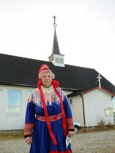 Inga Turi Hætta fikk kongens fortjenestemedalje