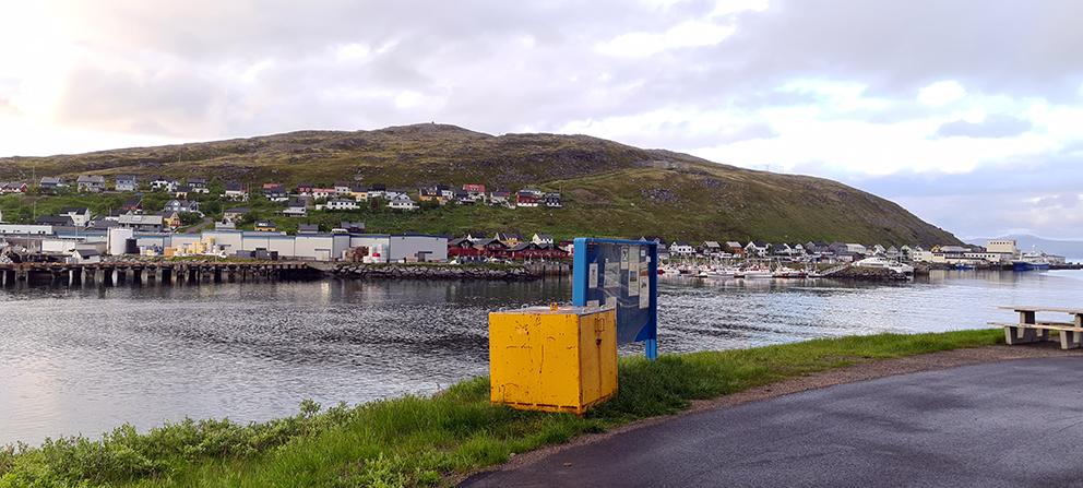 Sommer i Havøysund. (Foto: Solfrid Elise Valnes Pedersen)
