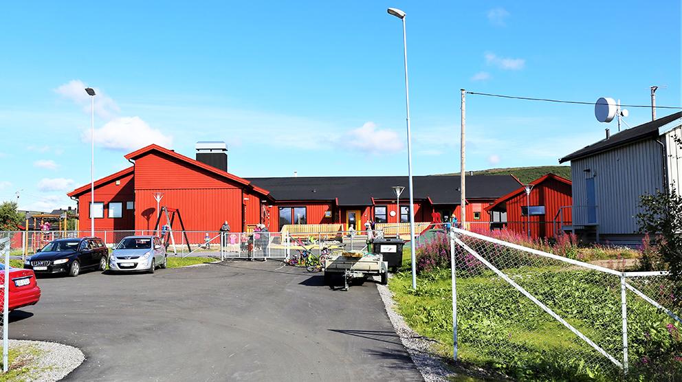 Barnehagen i Vestre Jakobselv. (Foto: Bjørn Roald Lillevik)